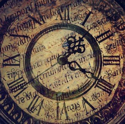 Картина Старый старинные часы