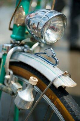 Картина Старый ретро велосипед