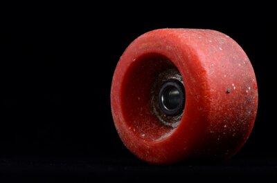 Картина Старый Vintage Потребляемый Skate колеса