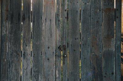 old wooden door with peeling paint