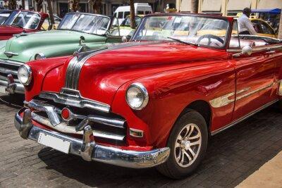 Картина Олдтаймер-им Zentrum фон Havanna