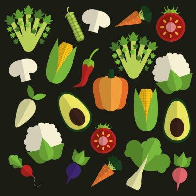 Картина Органический дизайн еда