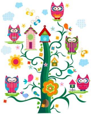 совы дерево