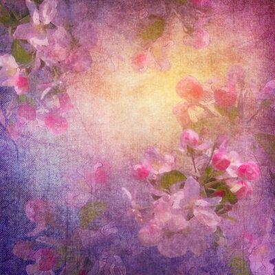 Картина Живопись в стиле весной цветочные искусство
