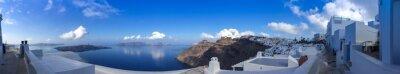 Картина Panorama à à Фира Санторин, Cyclades ле-ан-Grèce