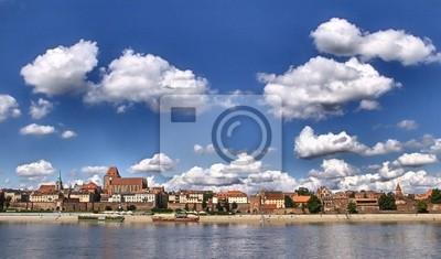 Панорама Торуни (Польша)