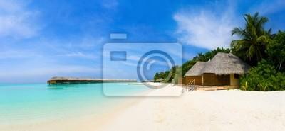 Панорама тропический пляж