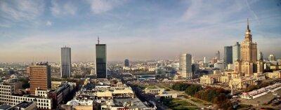 панорама Варшава