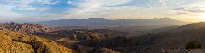 Картина Панорамный вид из пустынных ландшафтов