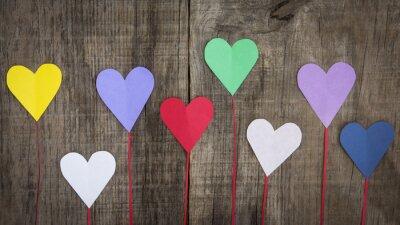 Картина Paper Hearts