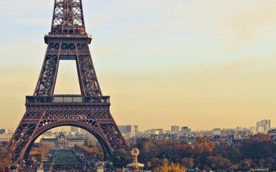 Картина Париж Франция Эйфелева башня