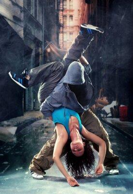 Картина Страсть танцевальная пара.