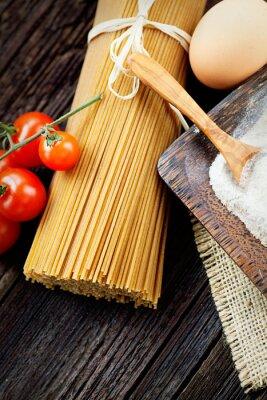 Картина Паста ингредиенты