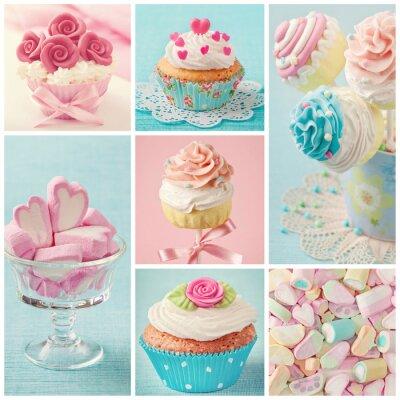 Картина Пастельные цвета конфеты