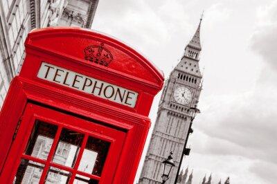 Картина Телефонная будка. London, UK
