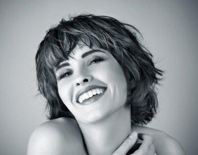 Картина Фото красивых смех женщины