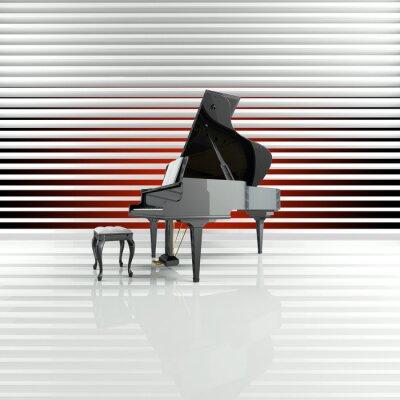 Картина Фортепиано, Flügel, Bühne, звезды, Талант