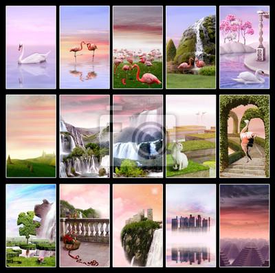 Розовый закат Коллекция