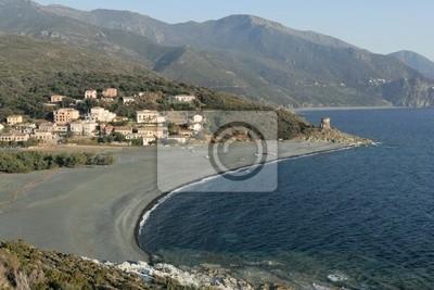 Plage d'Альбо данс Le Cap Corse