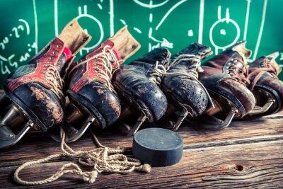 Картина План играть в хоккей матчей