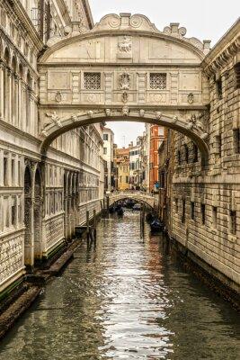 Картина Понте-дей-Sospiri, Венеция, Италия