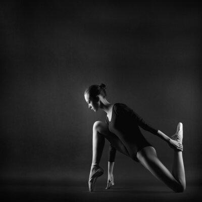 Картина Портрет молодой женщины красивая гимнастка