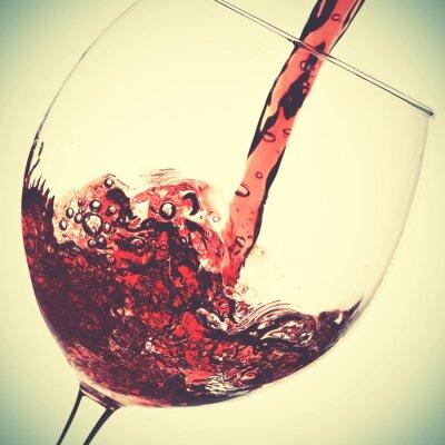 Картина Заливка красного вина