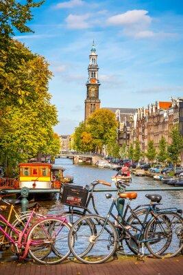 Картина Канал Принсенграхт в Амстердаме