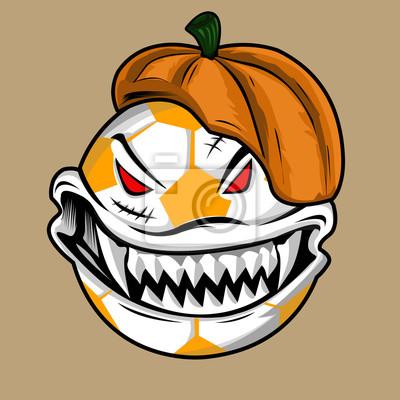 Тыквенный монстр для вечеринки на Хэллоуин