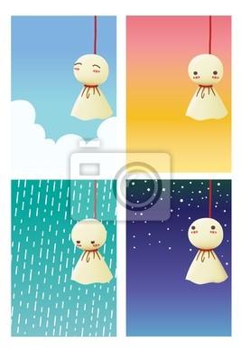 Дождь Кукла - Teruterubozu
