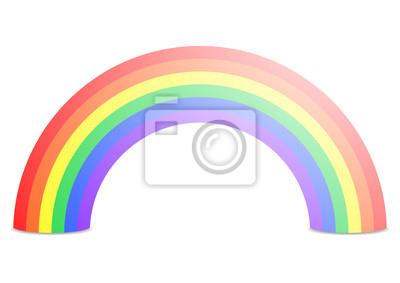 Картина радуга