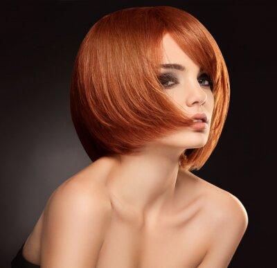 Картина Красные волосы. Высокое качество изображения.