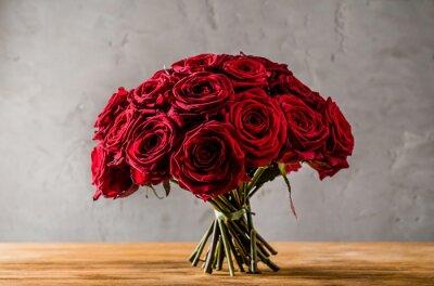Картина красные розы