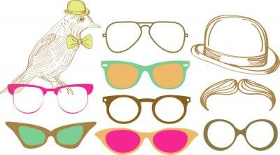 Retro Party установить: солнцезащитные очки