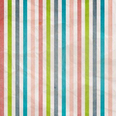 Картина Ретро модель полоса - фон с розовым, голубым, серым,