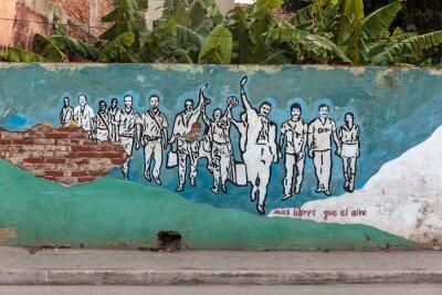 Картина Революция, Куба