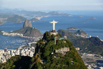 Картина Рио-де-Жанейро - Корковадо