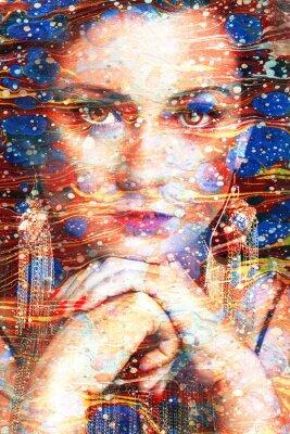 Картина ritratto Multicolore
