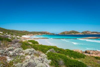 Картина Скалы на пляже, Лаки-Бей, Эсперанс, Западная Австралия