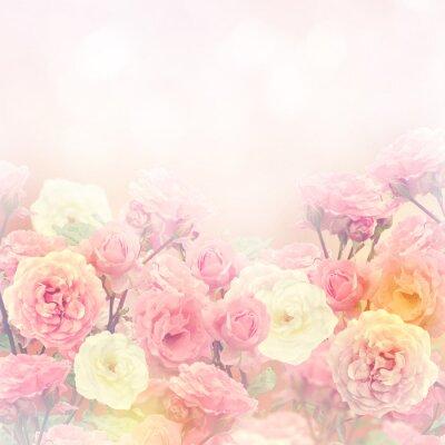 Картина Розы фон