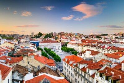 Картина Площадь Россио Лиссабон