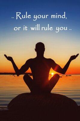 Картина Правило свое мнение или он будет управлять вами. Мотивация для себя