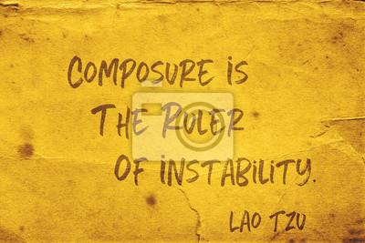 правитель нестабильности Лао Цзы