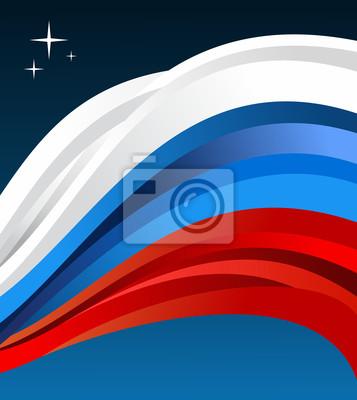Россия иллюстрации флаг