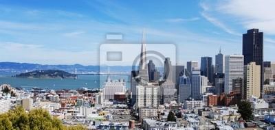 Сан - Франциско и залив панорама 6