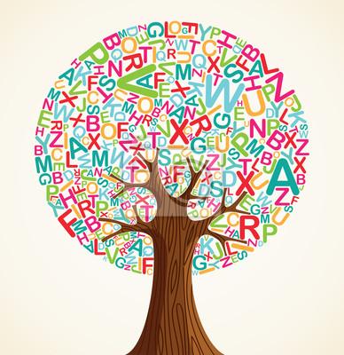 Концепция Школьное образование дерево