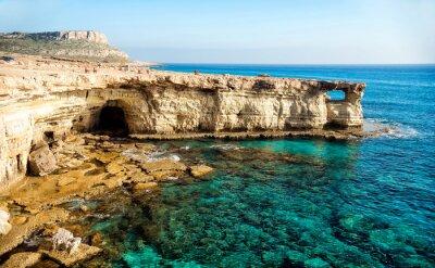 Картина Вид на море пещеры