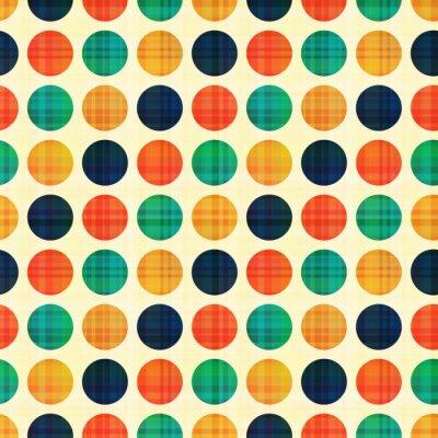 Картина бесшовные абстрактный полька точек шаблон