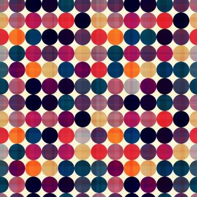 Картина бесшовные круги текстура