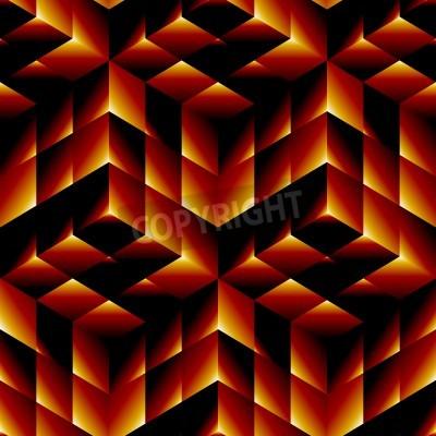 Картина Бесшовные геометрический рисунок